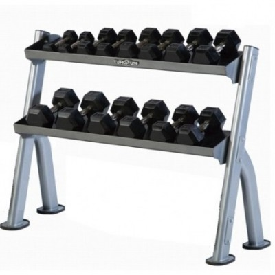 TuffStuff CDR-300 2-Tier Tray Dumbell / Kettle Bell Rack