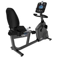 LIFEFITNESS LIFECYCLE R3 TRACK CONSOLE RECUMBENT BIKE